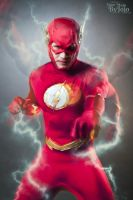The Flash - machine gun punch. {Extended exposure} by YourMojoByJojo