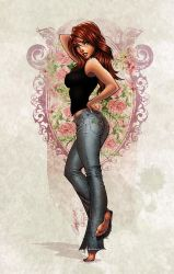 Mary-jane3 by Eddy-Swan-Colors