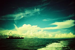 blue sky with lca by The-Unperfect