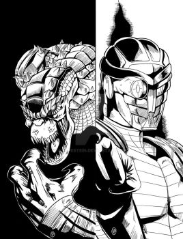 Killer corc and Deadshot