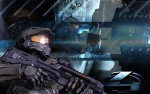 Halo 4 Wallpaper by LogrusChaos