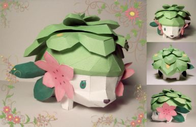Shaymin - Land form by P-M-F