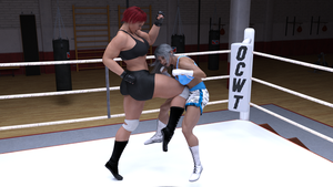 Alicia wells vs Tamao Silver 06 by suzukishinji