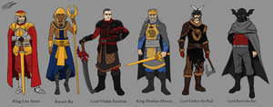 The First Kings of Aurum by joshuad17