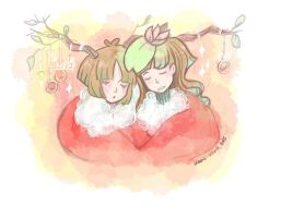 SKETCH: Merry Christmas 2015 by hiromihana