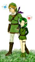 Saria in Twilight Princess? by Cloudyh