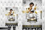 Pure White Edtition Party Flyer by Gallistero