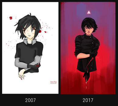 2007 vs 2017 by DamaiMikaz