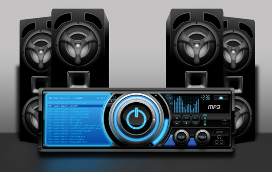 mp3 player by DarthAcey