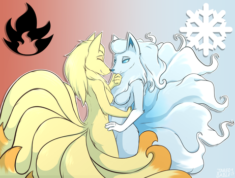 Fire and Ice by infinitedge2u