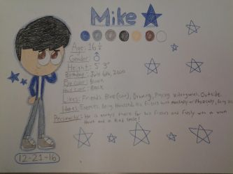 -Ref- Mike by NeoverseMike