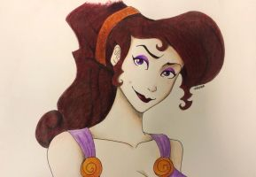 Meg from Hercules by Ahelchan