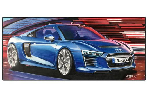 AUDI R8 E-TRON by Stephen59300