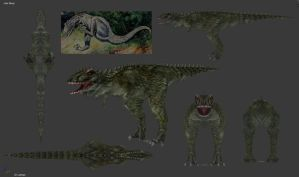 Carnivores 2 - Laelaps Mesh by Poharex