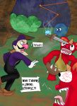 Waluigi in breath of the wild by kingofthedededes73