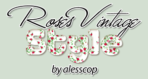 Roses Vintage Style Photoshop by alesscop