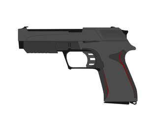 Nod Pistol Concept II (No Attachments) by Xenus888