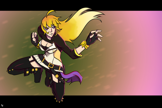 Yang Xiao Long by Fonix187