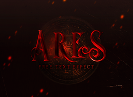 Free Text Style | Ares by allimli