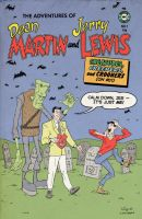 Martin And Lewis Comic Cover Homage by RobotGorilla