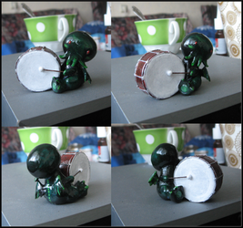 cthulhu drummer by tiivik