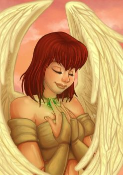 Angel Raiki by cowgirlem