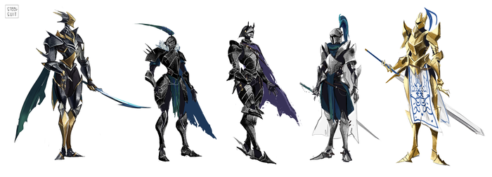 knight concepts by steelsuit