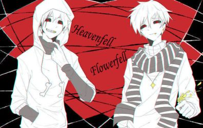 Heavenfell and Flowerfell human Sans by CharaLuvaChocolate