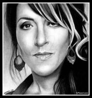 Katey Sagal as Gemma - SONS OF ANARCHY by Doctor-Pencil