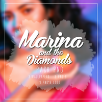 MARINA AND THE DIAMONDS PACK PNG by LittleDr3ams