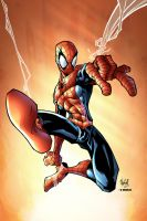 Spiderman by sketch colored by Dany-Morales