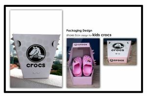 Kids Crocs Packaging design by icasialnrdy
