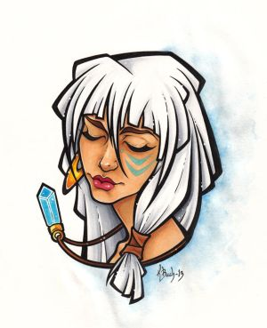 Princess Kida by BlueUndine