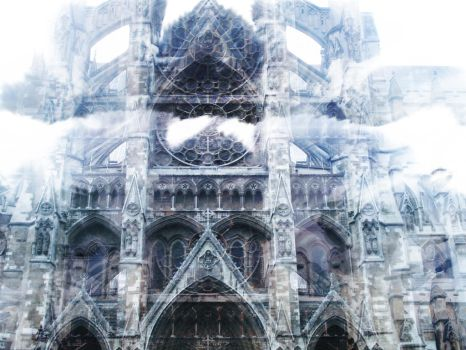 Cathedral Descending to Heaven by Metallic