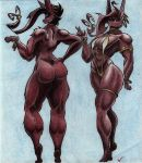 This is what the ideal female body looks like by Villaineee