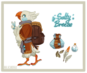 Salty Breeze [CLOSED] by Malacandrax