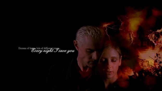 Every Night I Saved You by angelus2hot