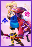 [500 Watchers Gift] -TDA Rain and Phoenix Moon DL- by Sushi-Kittie