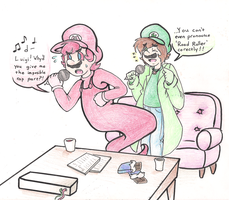 :Request:Star and Fire's Karaoke Party!! by EchoNyanko