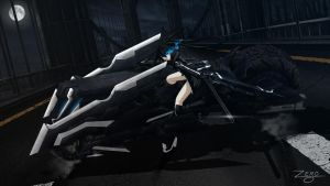 Black Rock Shooter The Game Black Trike by 73RO