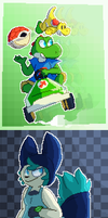 Tumblr Pixel Art Requests Pt. 3 by TheRetroArtist