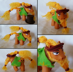 Cattail - A G4 Themed Custom Pony by dakotadarkhooves