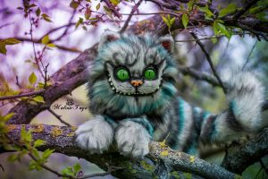 SOLD! Poseale toy/100% handmade Cheshire Cat by MalinaToys