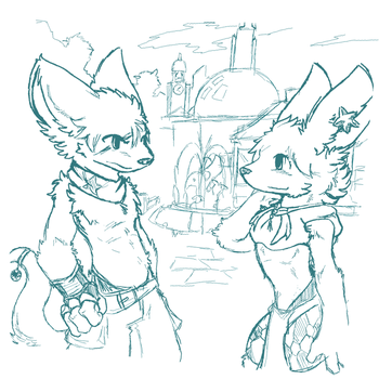 Old Doodle by Kaiseto