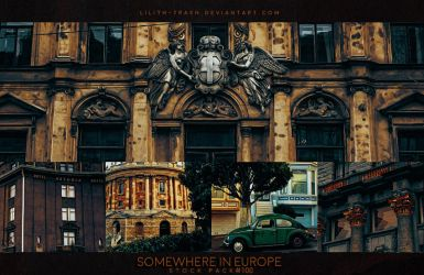 Somewhere in Europe  ( Stock Pack ) by LilithDemoness