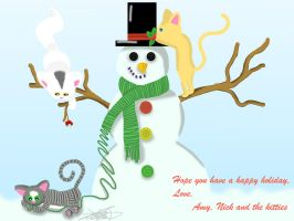 Holiday card 2010 by amy3dtd