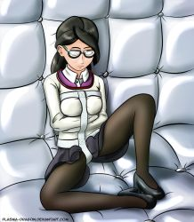 Miss Pauling's day off by Plasma-dragon