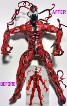Detailed Custom Carnage Figure by mentos888