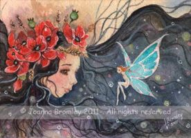 ACEO Poppy Girl by JoannaBromley