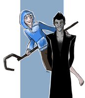Jack and Pitch by Kriegswaffle